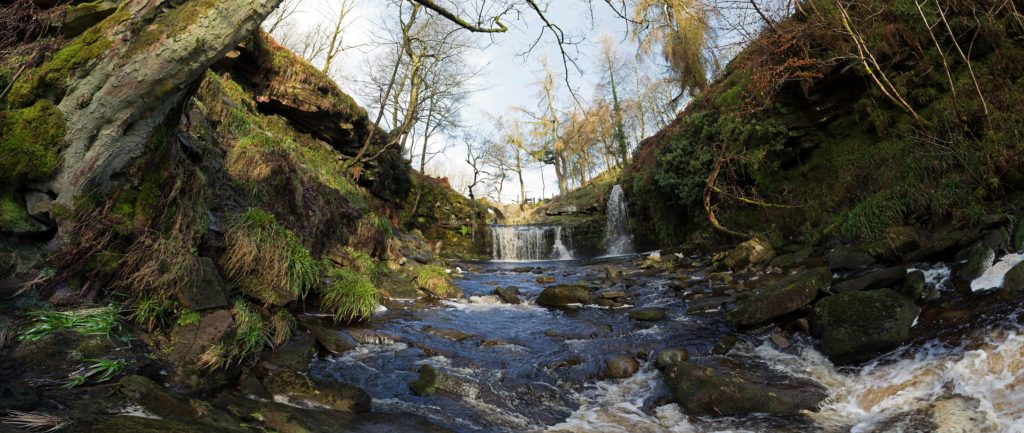 Lumb Falls, Panoramic Shot.